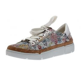 Renata Rom Sasso Floral Lace-Up Sneaker
