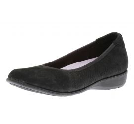 Abbey Black Ballet Flat