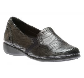 Adalyn Grey Reptile Loafer