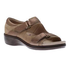 Duxbury Two Strap Taupe Sandal