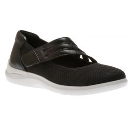 Power Comfort Black/Knit Mary Jane