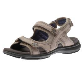 Rev 3-Strap Sandal Taupe