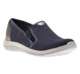 Wembly Side Zip Blue Sneaker