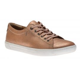 Arran Natural Leather Metallic Rose
