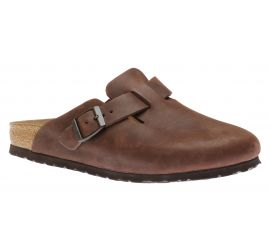 Boston Oiled Leather Habana Clog