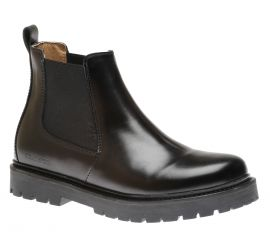Stalon Natural Leather Black Boot