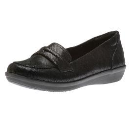 Ayla Form Black Loafer