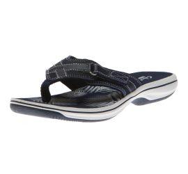 Breeze Sea Navy Thong Sandal