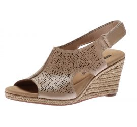 Lafley Rosen Sand Espadrille Wedge Sandal