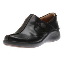 Un.Loop2 Walk Black Leather Loafer