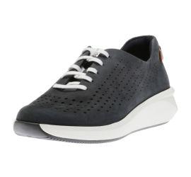 Un Rio Tie Navy Nubuck Sneaker