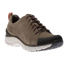 Wave Go Taupe Lace-Up Sneaker