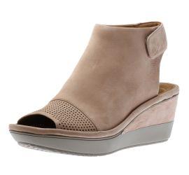 Wynnmere Abie Sand Nubuck Wedge Sandal