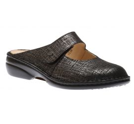 Stanford Lava Doyle Leather Clog