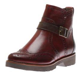 Boot Zipper Bordeaux