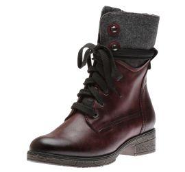 Boot lace Bordeaux