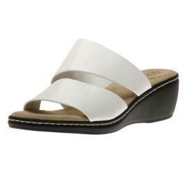 Slide Bronze White