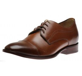 McClain Cap Toe Tan
