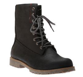 Heritage Black Fleece Mid-Calf Boot