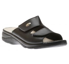 Mens Slide Black Gel