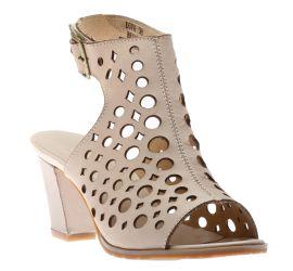 Dova Beige Leather Dress Sandal