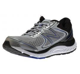M840GB4 Silver/Blue Running Shoe