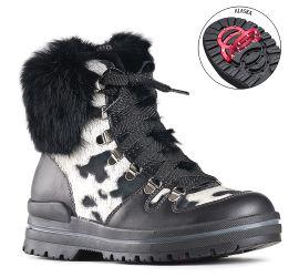 Ginger Black White Winter Boot