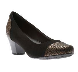 Dress Shoe Blk/Bronz