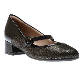 Dress Shoe Blk/Glitt