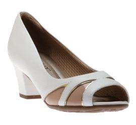 Dress Shoe White Mul