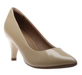 Dress Shoe Beige Pat
