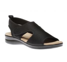Ladies Velcro Black