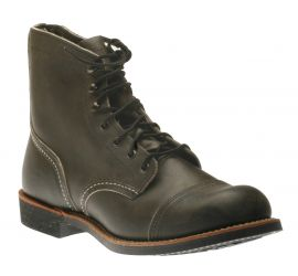 Iron Ranger 6-Inch Charcoal Leather Boot