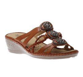 Sandal Cognac
