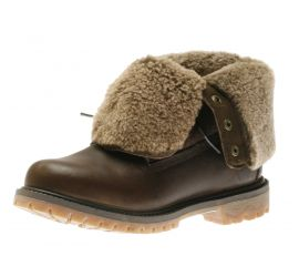 Shearling F D Brown