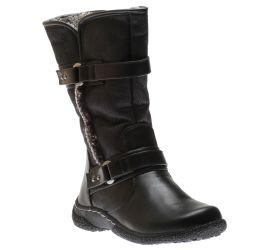 Gabi 2  Mid-Calf Winter Boot Black
