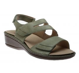 Cambridge 3 Strap Sage Sandal