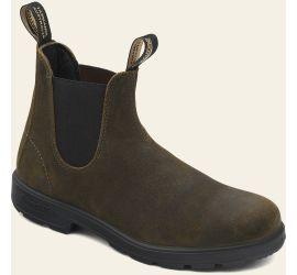 Blundstone 1615 - Dark Olive Suede Leather