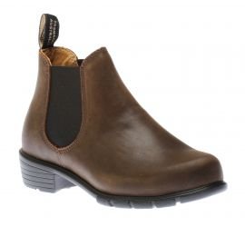 Low Heel Brown