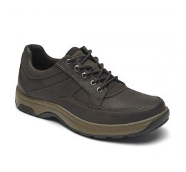 Midland Brown Nubuck Leather Waterproof Oxford