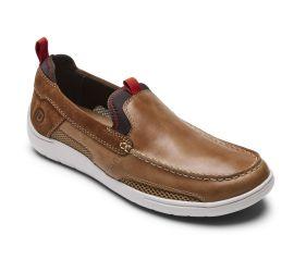 Fitsmart Tan Leather Loafer