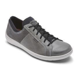 FitSmart Lace-to-Toe Grey/Blue Shoe
