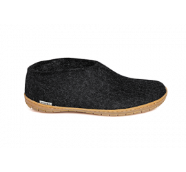 Slip-On Charcoal Rubber