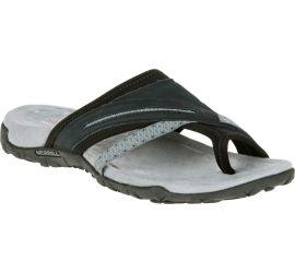 Terran Post II Black Slide Sandal