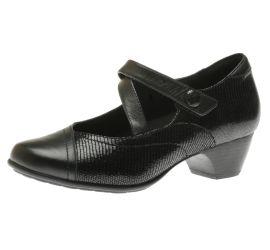 Portia Black Mary Jane Low Heel
