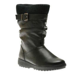 Vivid Black Leather