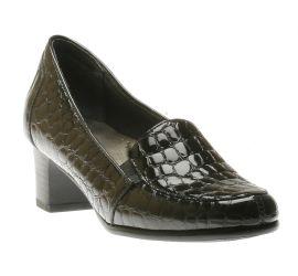 Gloria Grey Croc