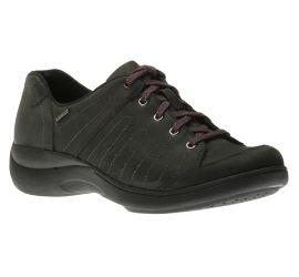 Rev Stridarc Waterproof Savor Black/Nubuck Lace-Up Sneaker