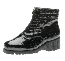 Front Z W Black Croc