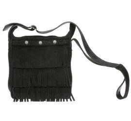 Fringe Bag Black